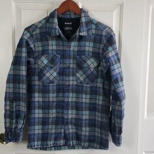 Hurley by Pendleton • M shirt  plaid blue